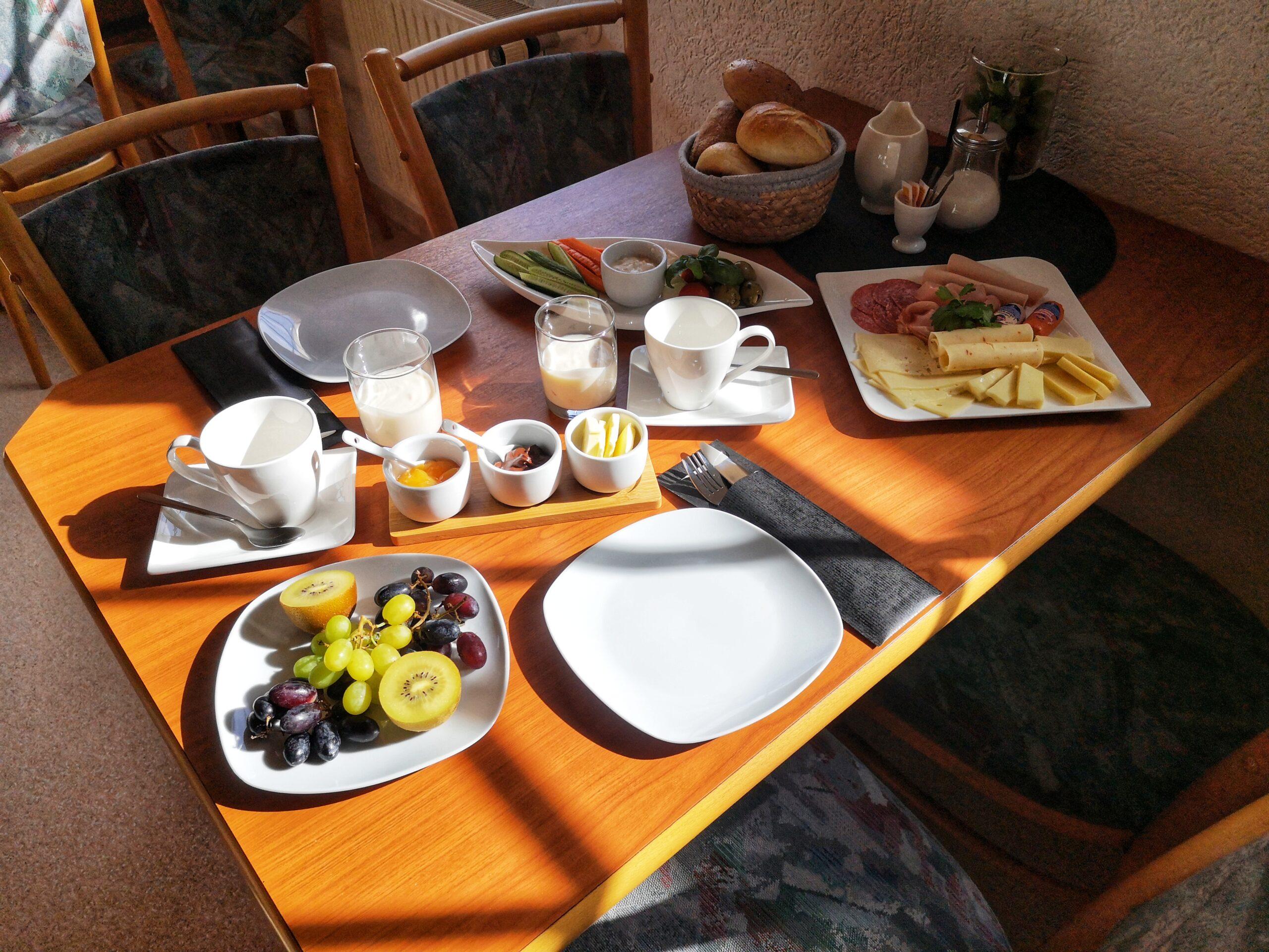 Frühstück Pension